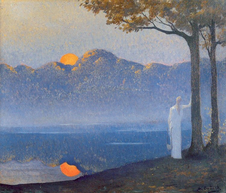 alphonse-osbert-sunrise